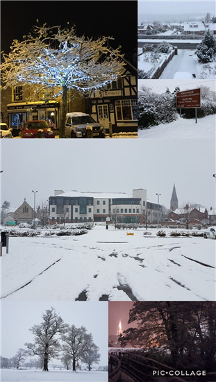 Pictures of Ruthin snow